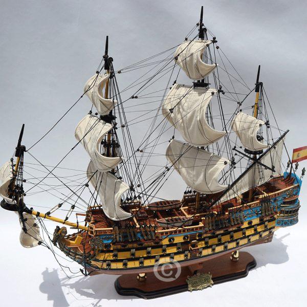 Mô Hình Thuyền Gỗ San Felipe