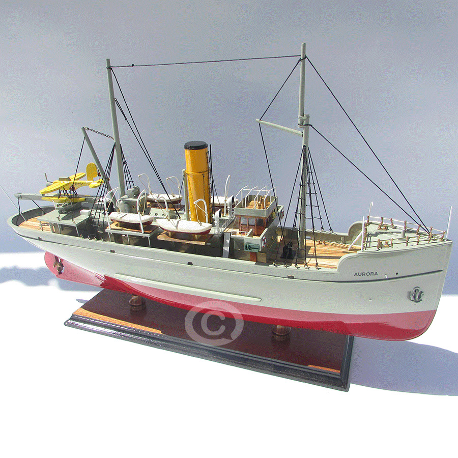 mô hình thuyền gỗ aurora