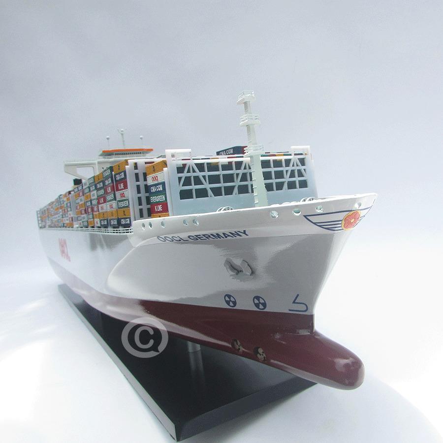 mô hình thuyền gỗ oocl germaney