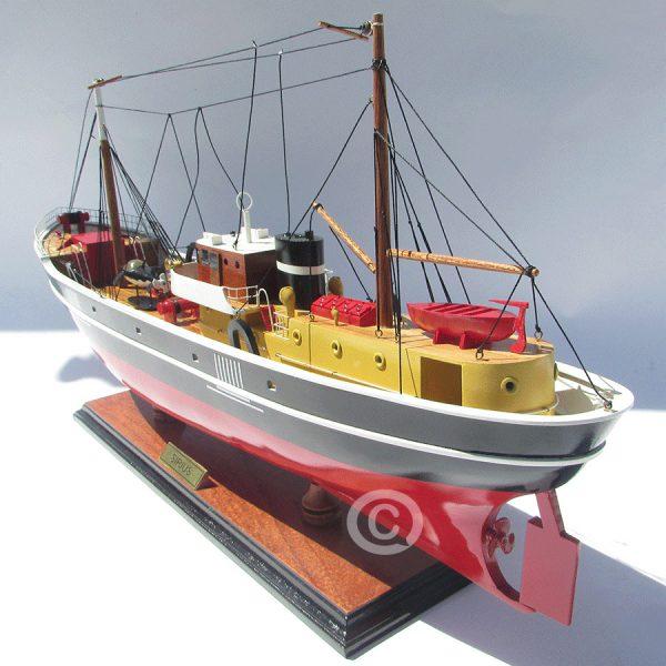mô hình thuyền gỗ sirius