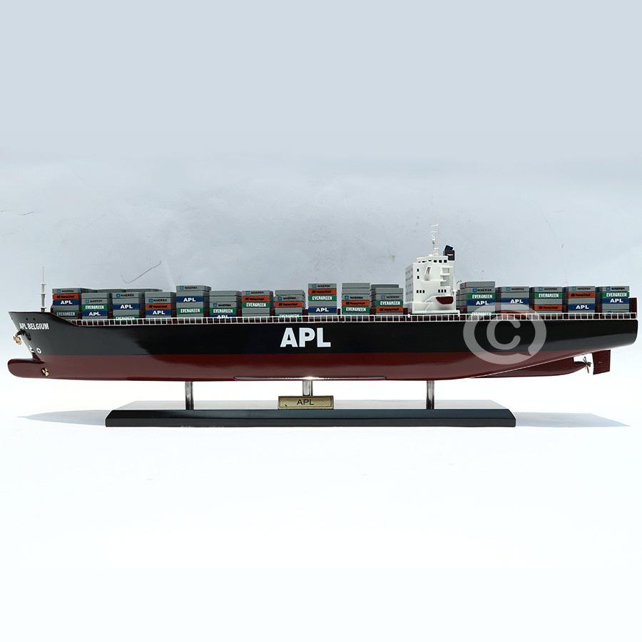 mô hình thuyền gỗ apl