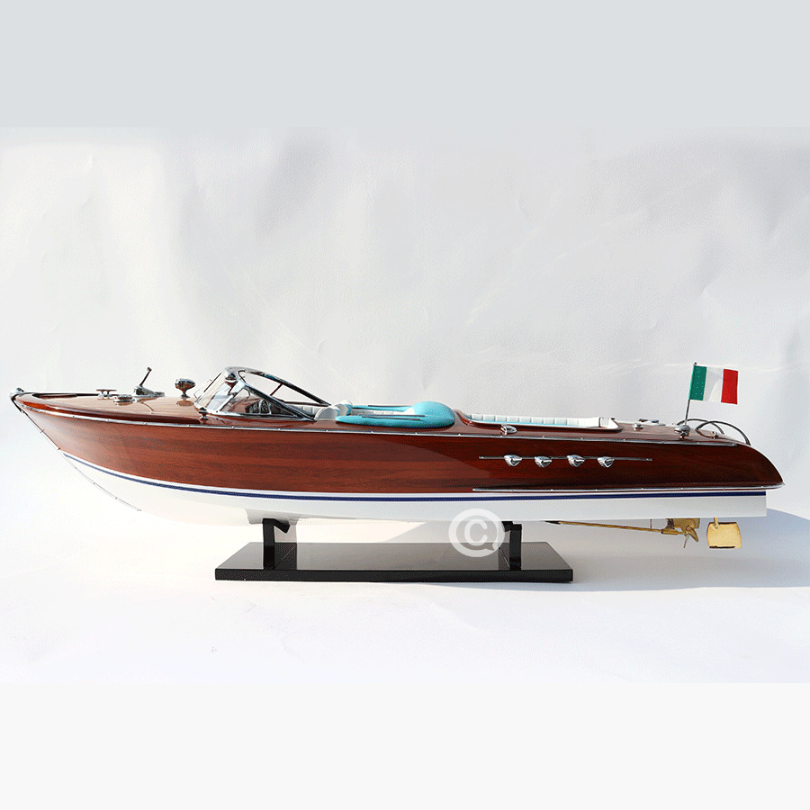 mô hình thuyền gỗ riva aquarama 90