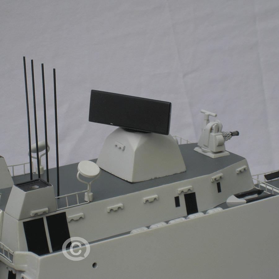 mô hình thuyền chiến de zeven