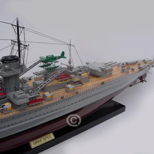 mô hình thuyền chiến graf spee
