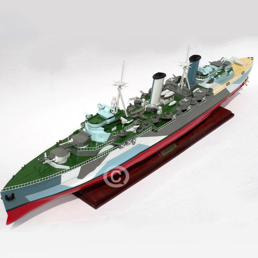 mô hình thuyền chiến hms belfast
