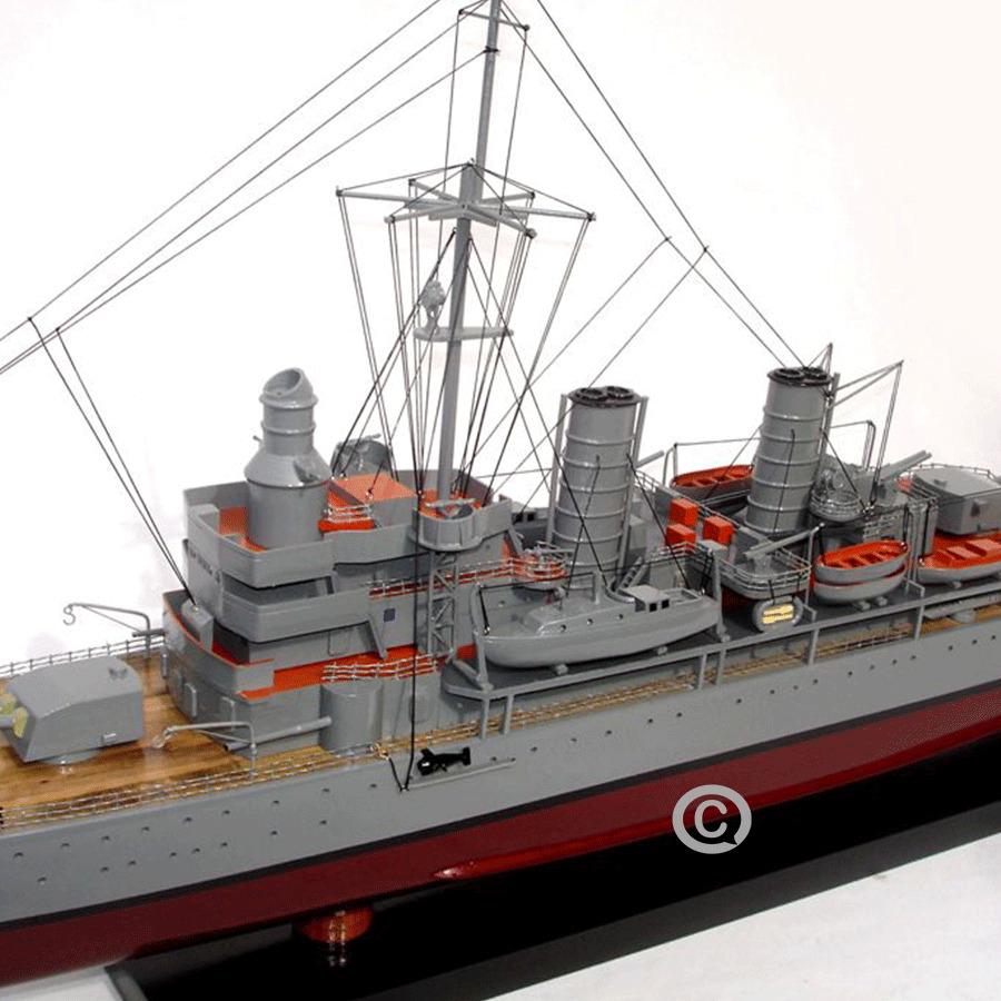 mô hình thuyền chiến hmsgotland