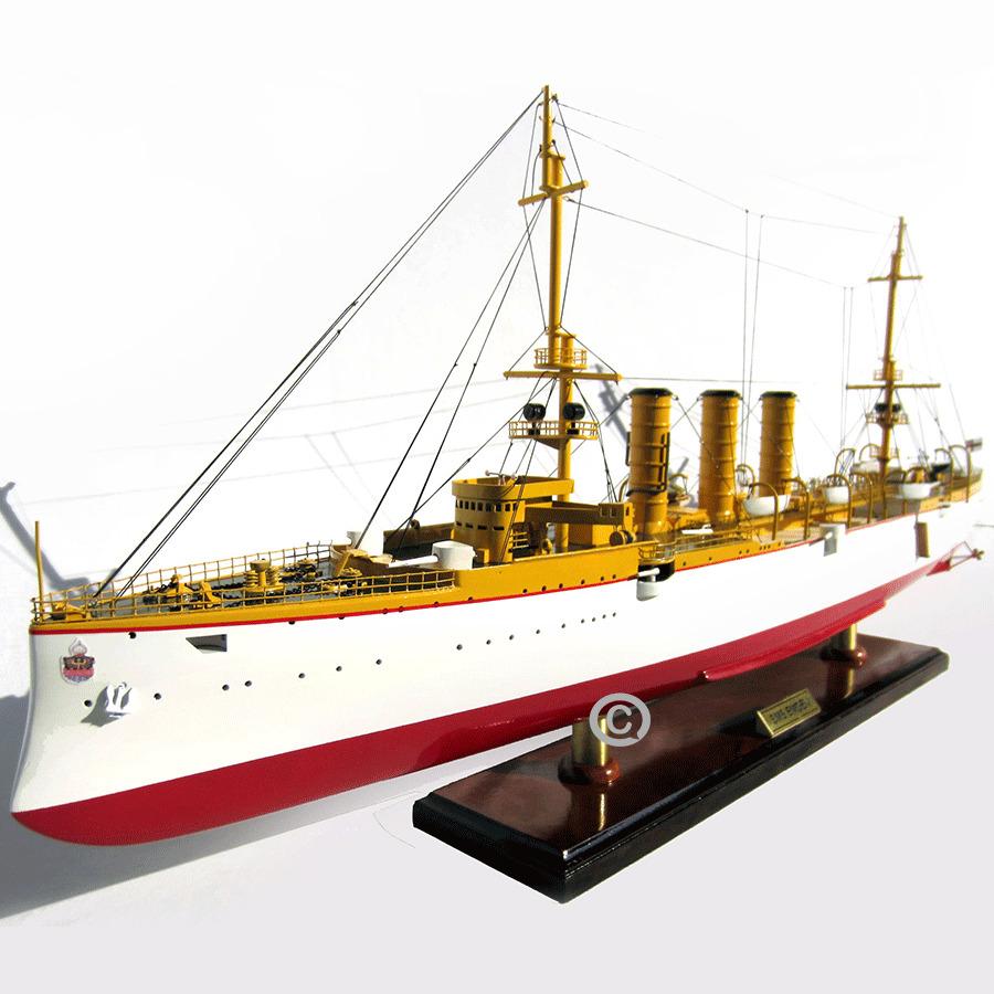 Mô Hình Thuyền Chiến Sms Emden