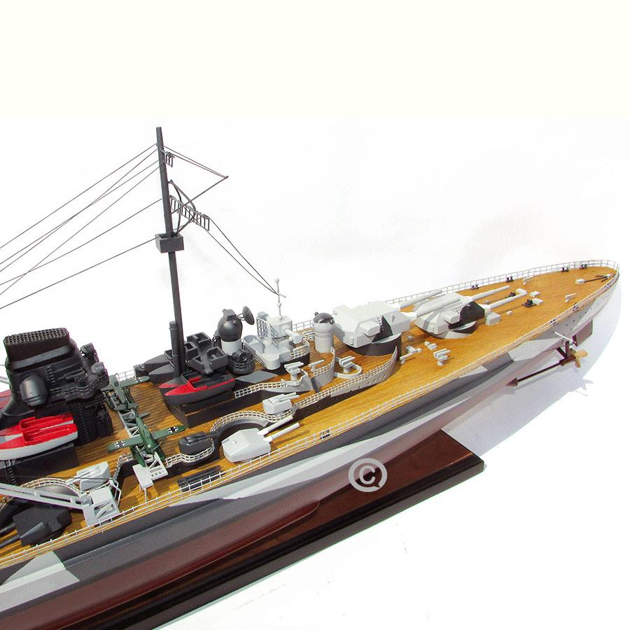 mô hình thuyền chiến tirpitz