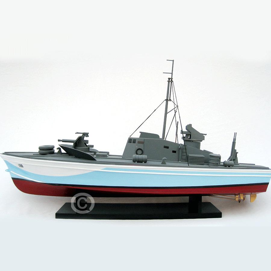 mô hình thuyền chiến torpedo