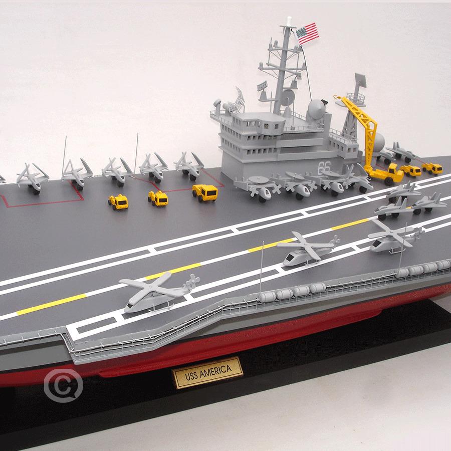 Thuyền Chiến Uss America Cv 66