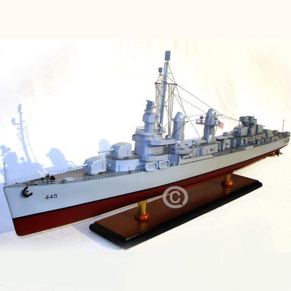 mô hình thuyền chiến uss fletcher