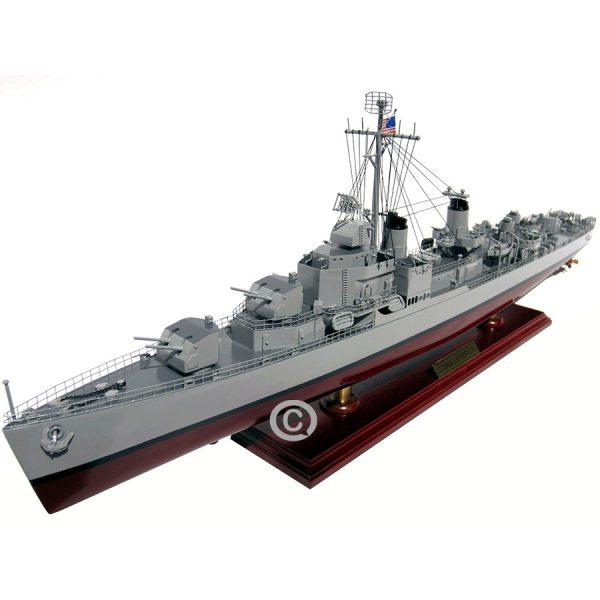 mô hình thuyền chiến uss gearing class destroyer