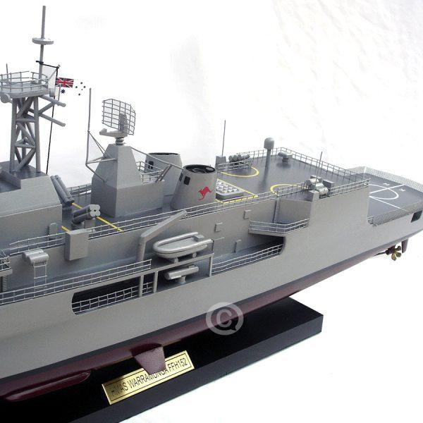 Mô Hình Thuyền Chiến Warramunga 152