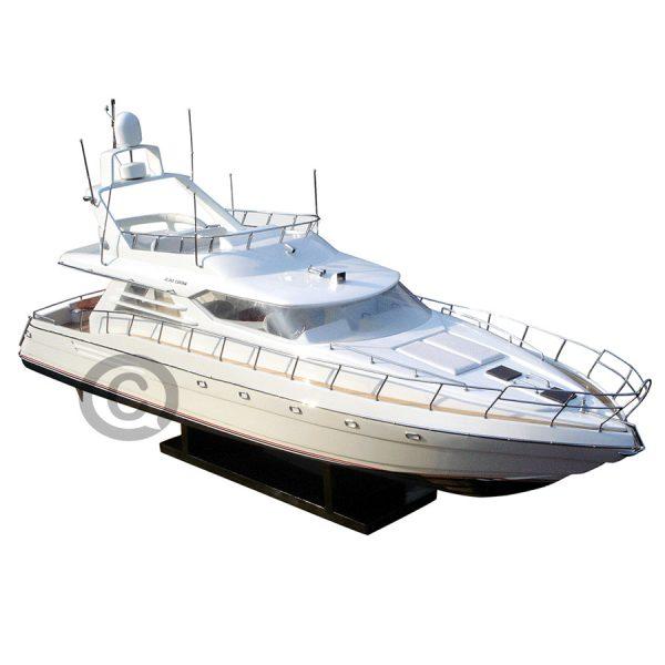 mô hình thuyền hiện đại sunseeker 60