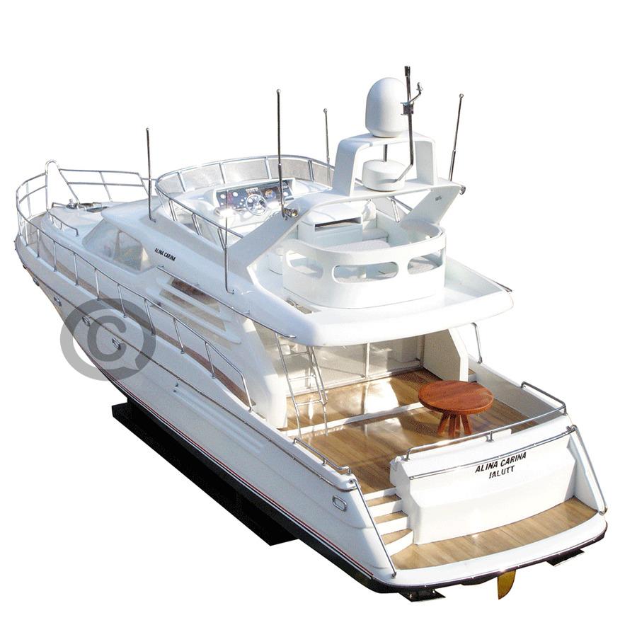 mô hình thuyền hiện đại