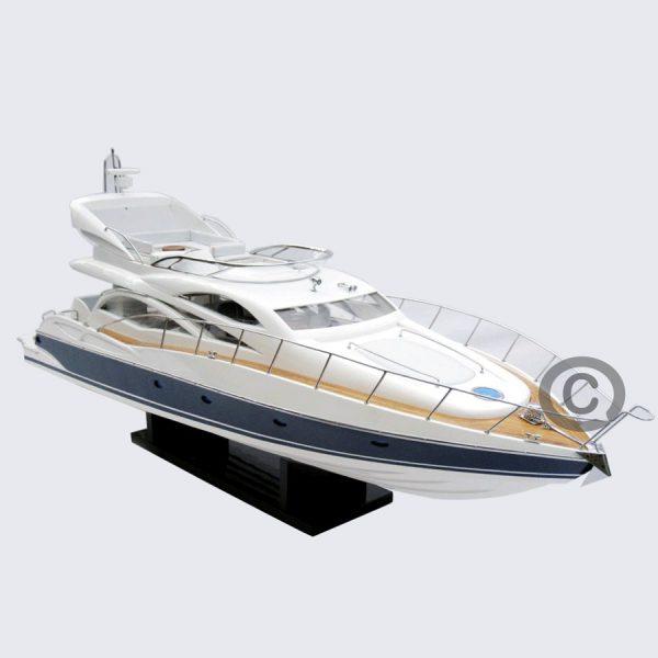 mô hình thuyền hiện đại sunseeker 64