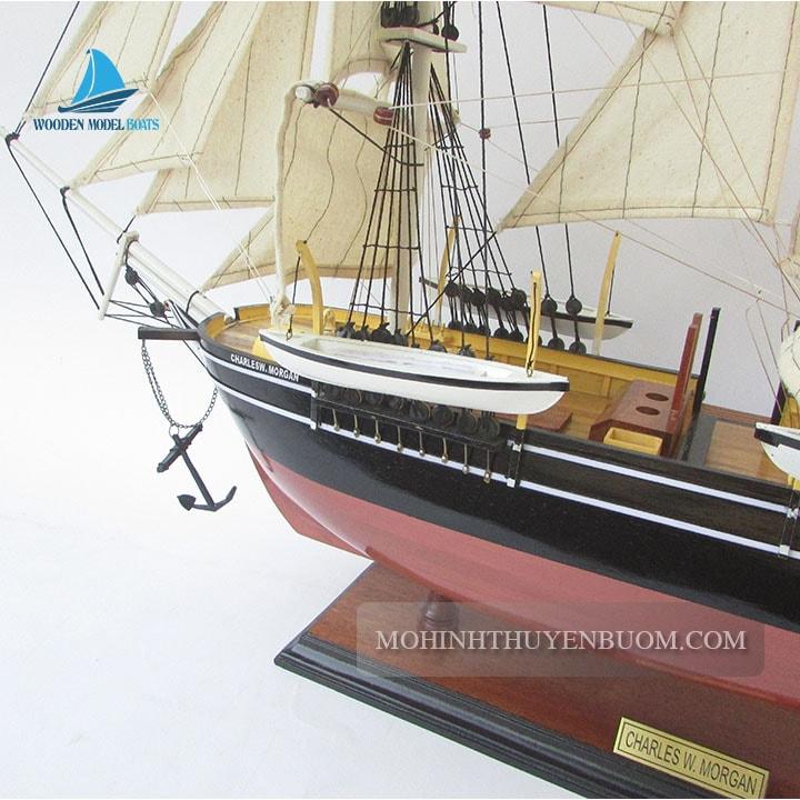 mô hình thuyền gỗ charles morgan