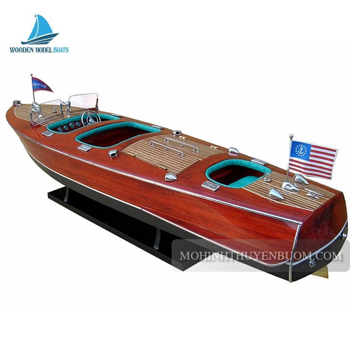 mô hình thuyền đua tốc độ là gì