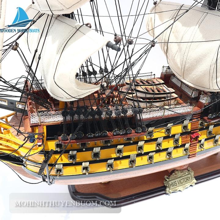 thuyền gỗ hms victory 70
