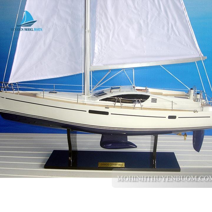 Du Thuyền Jeanneau Sun Odyssey 45Ds