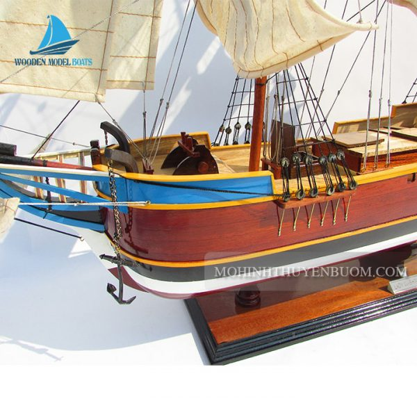 thuyền gỗ lady washington painted