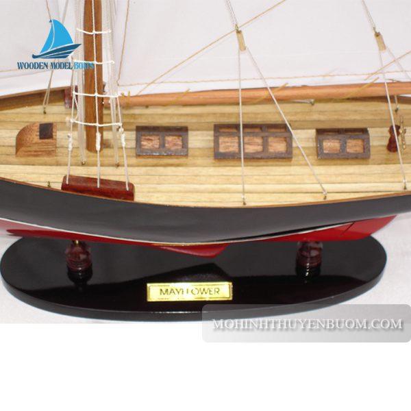 Thuyền Gỗ Mayflower Painted