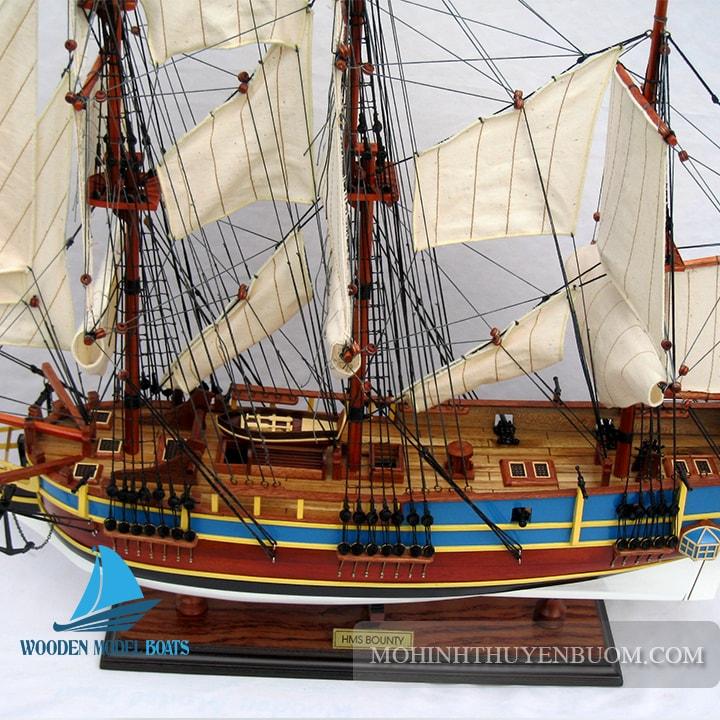 Thuyền Gỗ HMS BOUNTY PAINT