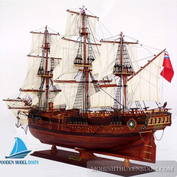 Thuyền Gỗ Hm Bark Endeavour