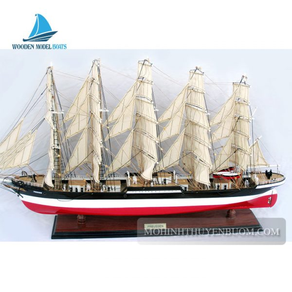 thuyền gỗ preussen