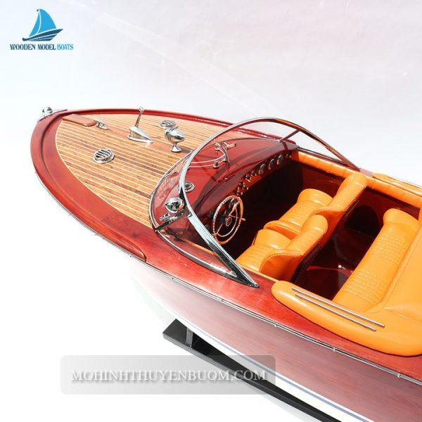 Thuyền Đua Super Riva Aquarama (Orange)