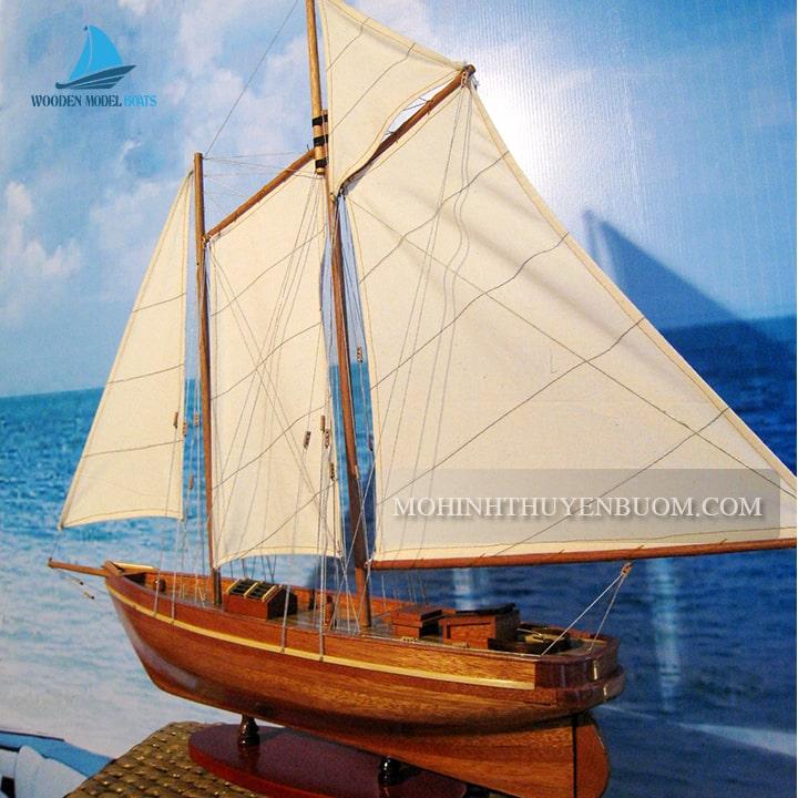 thuyền buồm america wood