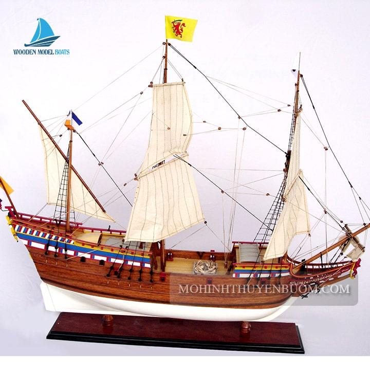 mô hình thuyền gỗ duyfken