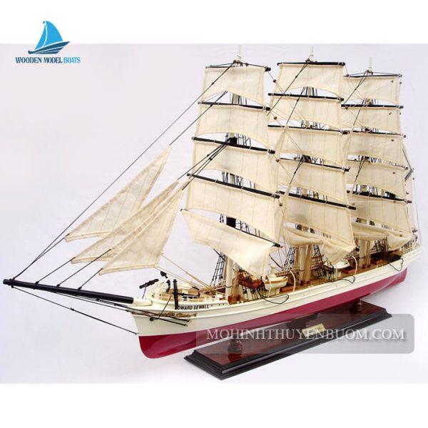 mô hình thuyền gỗ edward sewall