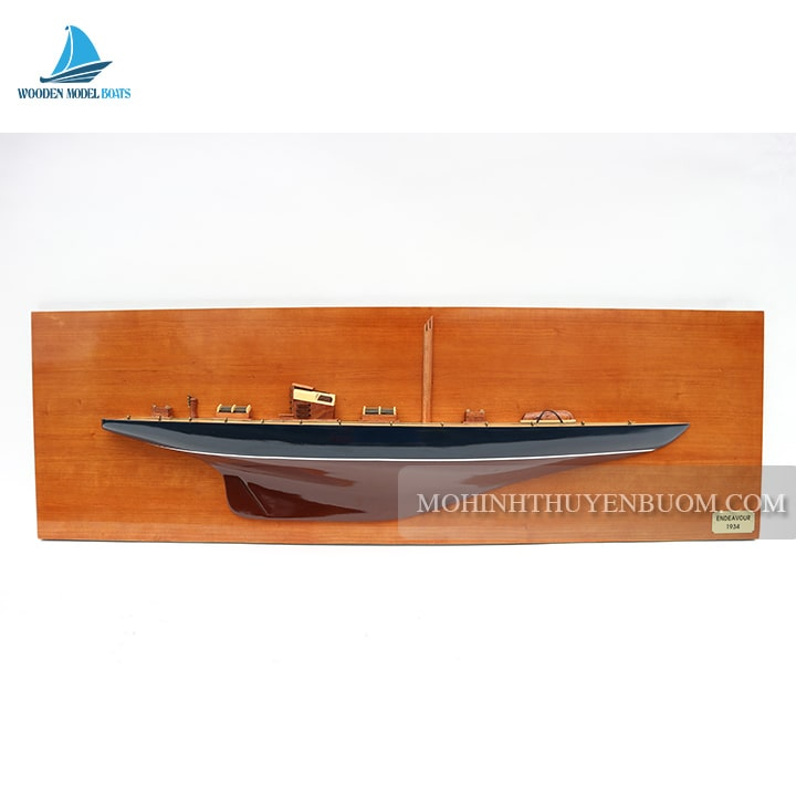 thuyền tranh endeavour half-hull