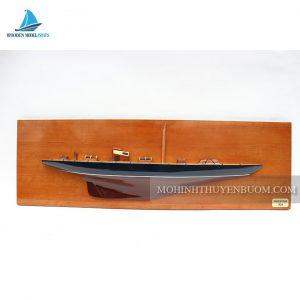 Thuyền Tranh ENDEAVOUR HALF-HULL