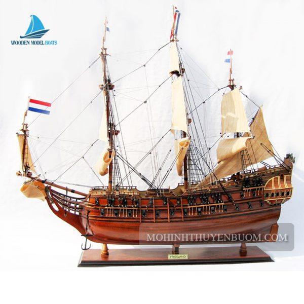 Mô Hình Thuyền Gỗ Friesland