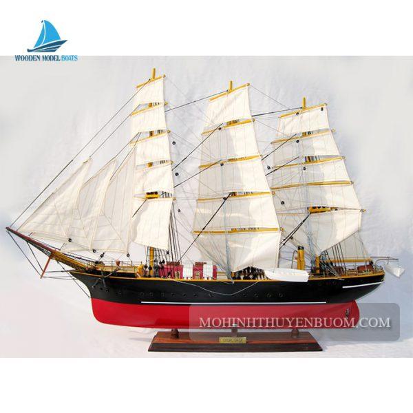 mô hình thuyền gỗ georg stage