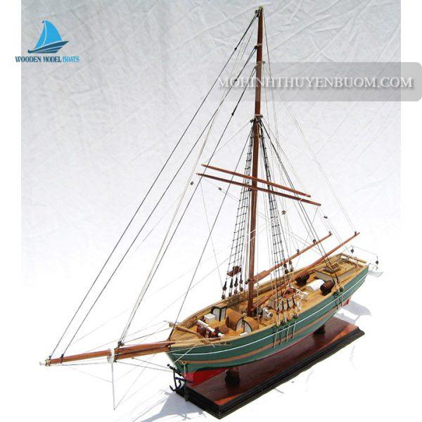 mô hình thuyền gỗ gjøa