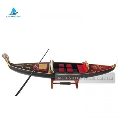 tàu thuyền gondola black painted