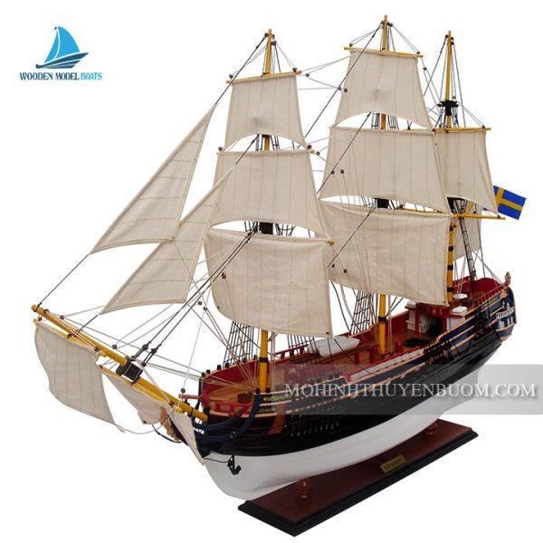 Mô Hình Thuyền Gỗ Gothenburg