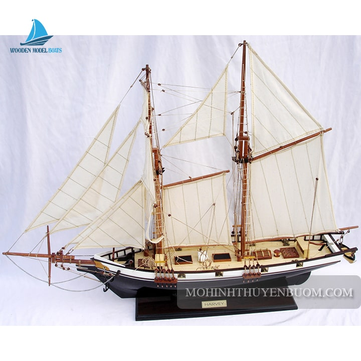 thuyền gỗ harvey painted
