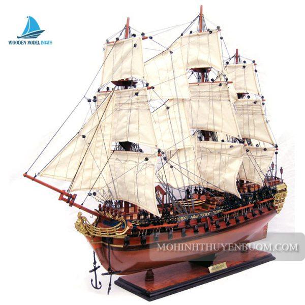 mô hình thuyền gỗ hms bellona
