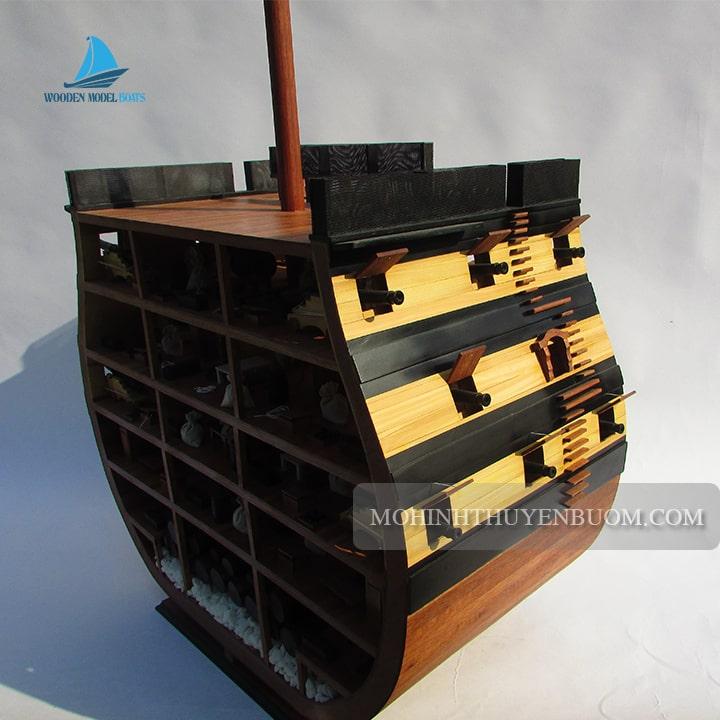 kệ gỗ hms victory cross section