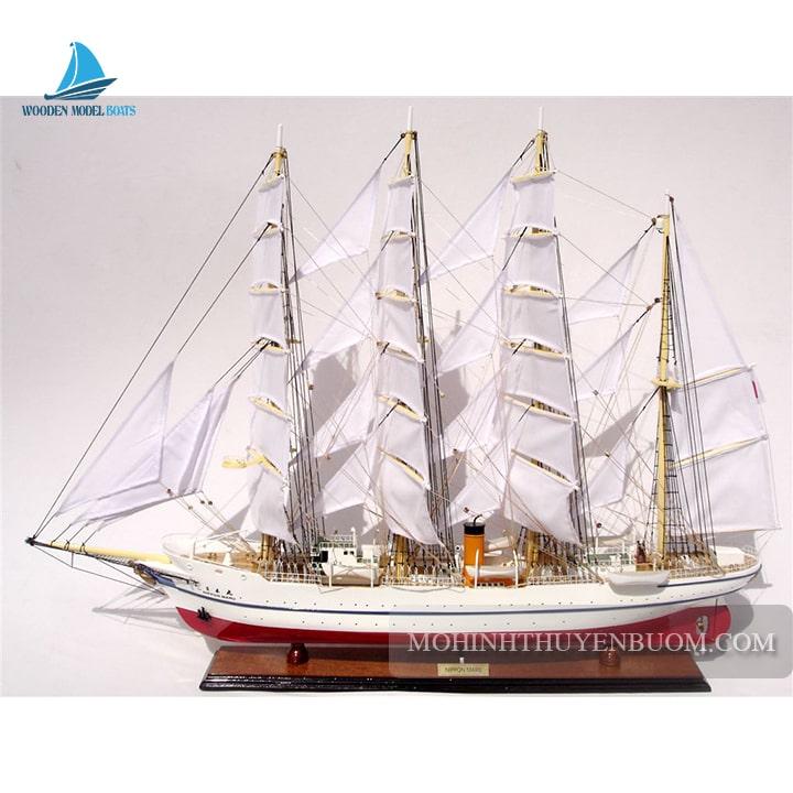 mô hình thuyền gỗ nippon maru (1930)