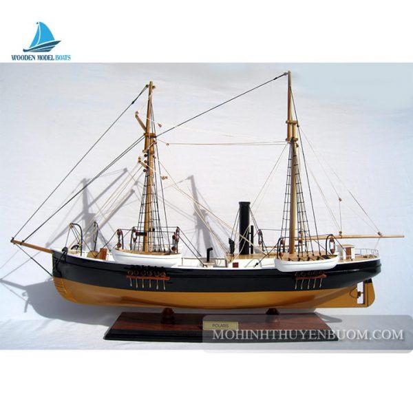 mô hình thuyền gỗ polaris