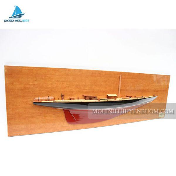 thuyền tranh rainbow half-hull