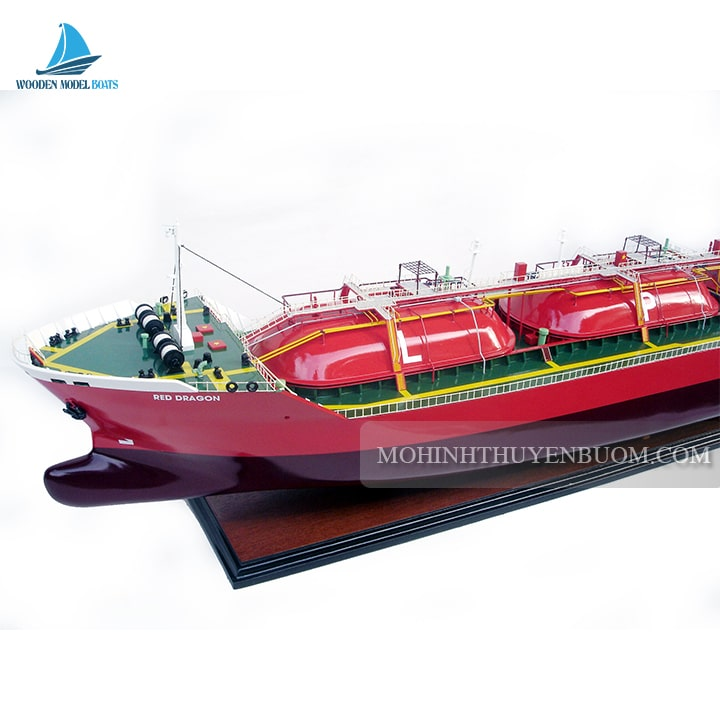 Thuyền thương mại RED DRAGON
