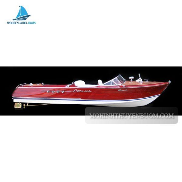 Thuyền Tranh Riva Aquarama Half-Hull