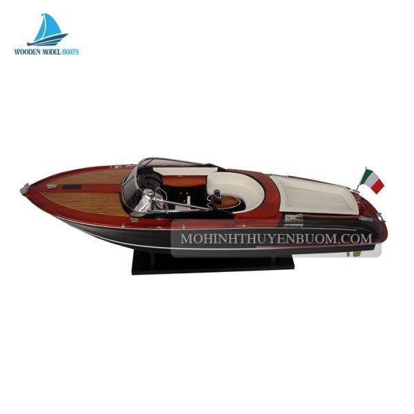 thuyền đua riva aquariva xám