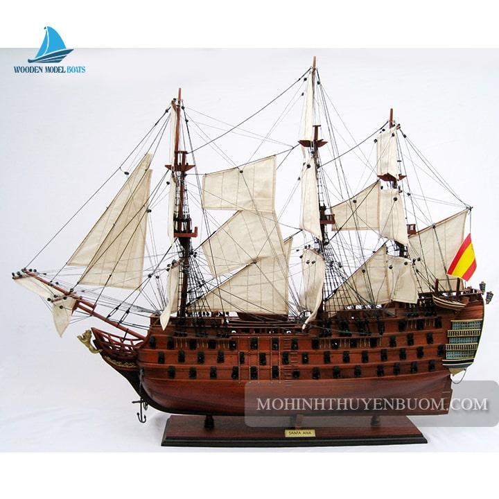 Mô hình Thuyền gỗ SANTA ANA